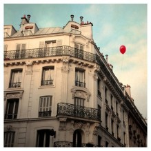 Signed Fine Art Photograph- Le Ballon Rouge - Alicia Bock