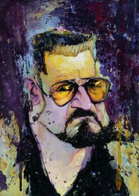Walter Sobchak The Big Lebowski Poster Size Archival Print