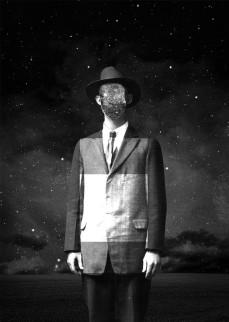Lunar Stranger - 11.8 x 16